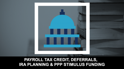 Thumb - Payroll Tax Credit, Deferrals, IRA Planning & PPP Stimulus Funding